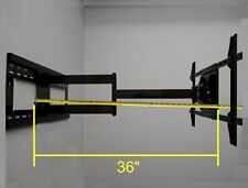 """36"""" Long Arm TV Mount with 90° Full Rotation Left or Right for 65"""" Samsung LG TV"""