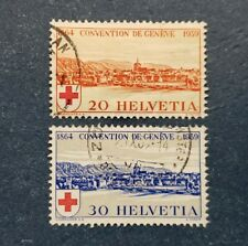 Switzerland Stamps, Scott 268-269 Complete set Used And Hinged