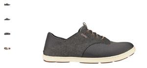 Olukai Nohea Moku Charcoal/Clay Sneaker Loafer Men's US sizes 7-14 NEW!!!