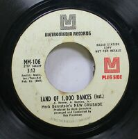 Hear! Funk Promo 45 Herb Bernstein'S New Crusade - Land Of 1,000 Dances / Delila
