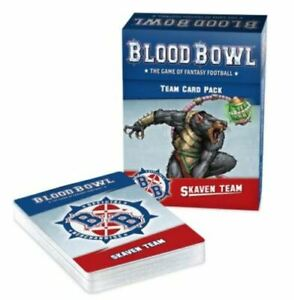 Blood Bowl Skaven Team Card Pack New