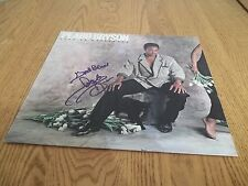 "PEABO BRYSON Signed AUTOGRAPHED LP 1985 RECORD ""TAKE NO PRISONERS"" ALBUM"