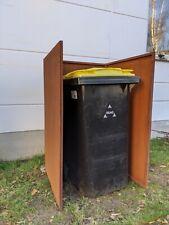 Garten Edelrost Mülltonnenbox Mülltonnenverkleidung Mülltonnenschrank MetallRost