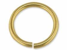 5 x 4mm Heavyweight 9ct Yellow Gold Jump Rings