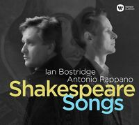 SHAKESPEARE SONGS LIMITED EDITION  CD NEW+ BYRD/SCHUBERT/HAYDN/BRITTEN/+