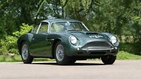 1960 Aston Martin DB4 GT Zag. 5 Luxury Race Famous Car Poster or Canvas A4-A0