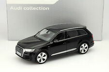 Minichamps 2015 Audi Q7 Black 1:18 Rare Dealer Edition*New!