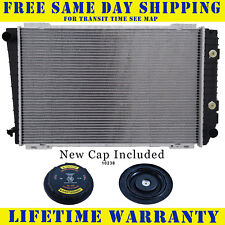 Radiator With Cap For Ford Lincoln Fits Town Car Crown Victoria Marquis 1279WC