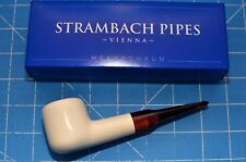 Princess Hand made MEERSCHAUM pipe by STRAMBACH Austria (bauer) NEW 9mm Filter ☦