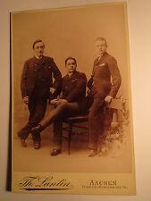 Aachen - 1890 - Nöll aus Hagen / Leopold Schweitzer / Eugen Devez aus Herve KAB