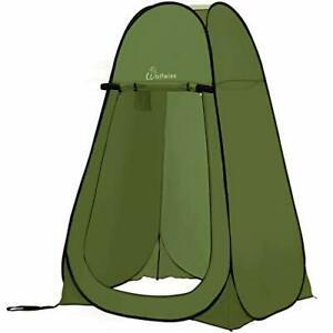 Pop-Up Tent With Side Bag,Polyester, Anti-Tear ,UV Protection Fabric,Foldable
