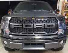 2009-2014 Ford F-150 F150 Raptor Style Conversion OEM Grille Grill F+R Installed