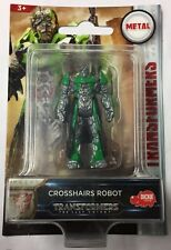 Transformers: The Last Knight Metal Crosshairs Robot Figure - New & Sealed