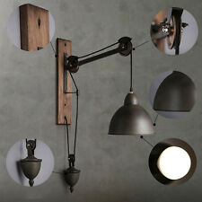 Vintage Style Industrial Swing Arm Wall Sconce Retro Light Wall Lamp Adjustable