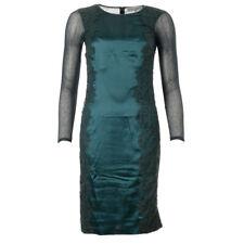 BODY FROCK Dress Emerald Green Net & Lace Detail BG