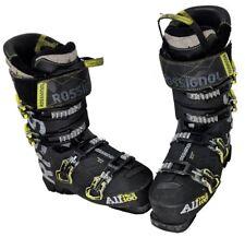 Rossignol AllTrack 100 Ski Boots  Mondo 25.5 Mens 7.5 - Black/Yellow/Gray - USED