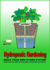 Build Hydroponic Garden Ballast Light Grow Kit System Nutrients Book on CD