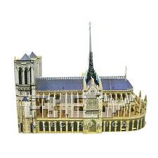 Puzzle 3D Catedral de Notre-Dame Juego Catedral de Nuestra Señora Paris  j70