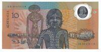 BN18) Australia 1988 Bicentennial $10 1st Polymer Note serials will vary