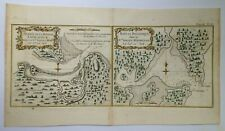 AUSTRALIA BOTANY BAY 1774 JAMES COOK ANTIQUE SEA CHART 18e CENTURY