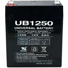 NEW UPG UB1250 12V 5AH Universal Sealed Lead Acid Battery !