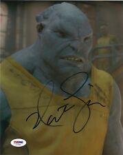 """NATHAN FILLION SIGNED 8x10 PHOTO """"GUARDIANS OF THE GALAXY, FIREFLY""""  PSA DNA COA"""