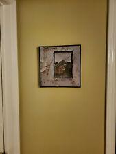 """Led Zeppelin IV - 1971 Vinyl Album WALL/ART  """"FRAMED"""" - Atlantic SD 19129"""