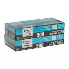 """Member's Mark Heavyweight Wax Papers 12"""" X 10.75"""", 2 pk, 1,000 ct.-Free shipping"""