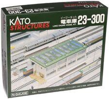 KATO Unitrack 23-300 Long Engine House Kit Constructed