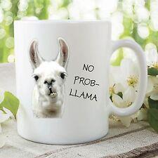 No Problem Mug Llama Animal Funny Novelty Joke Tea Cup Birthday Gift WSDMUG121