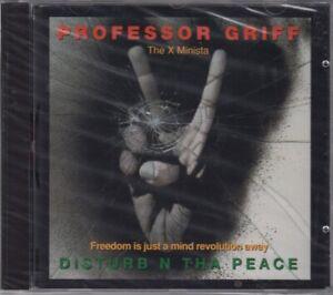 PROFESSOR GRIFF Disturb N Tha Peace CD Album 1995 NEUWARE IN FOLIE PUBLIC ENEMY