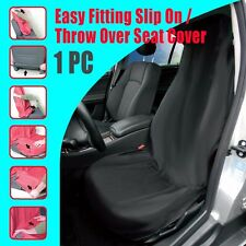 NEW 1pc Throw Over Slip On Car Seat Cover Fit More Than One Vehicle Black