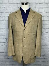 $995 Pal Zileri Mens Italian Made Silk Linen & Wool Sport Coat Blazer 40R