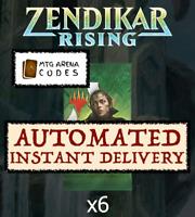 MAGIC MTG Arena Code - 6 Boosters Packs Zendikar Rising Prerelease INSTANT EMAIL