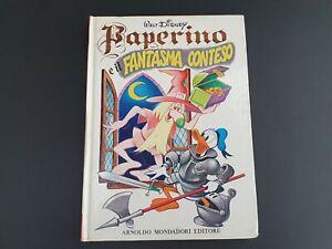 Vintage Disney Italian Book - Paperino e il Fantasma Contesto