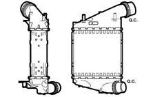NRF Intercooler radiador admisión de aire 30529