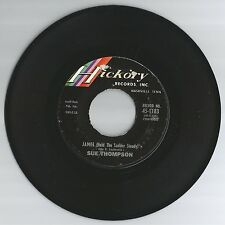 SUE THOMPSON 45 RECORD-JAMES(HOLD THE LADDER STEADY)/ MY HERO.. VG+  1962
