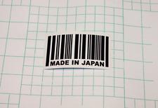 x2 Made in Japan JDM Vinyl Car Truck Sticker Decal mitsubishi Racing honda DUB
