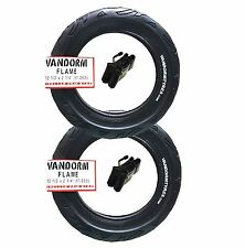 2x Pram Tyres & Tubes 12 1/2 X 2 1/4 Slick out N About Nipper 360 Mamakiddies Flame Tread 1b9-f50-23b