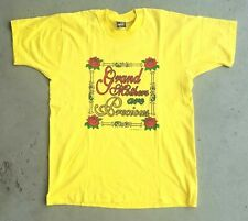 Vintage Grandmothers Are Precious Yellow Large Tshirt 1996 Single Stitch USA
