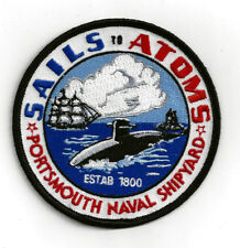 PORTSMOUTH NH NAVAL SHIPYARD PATCH US NAVY VETERAN PIN UP USS NEW HAMPSHIRE GIFT