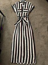 DOROTHY PERKINS black and white shirt dress size 8