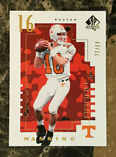 Peyton Manning 2014 SP Authentic Future Watch GOLD PARALLEL #FW-2 TN Vols /99