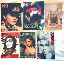 MADONNA LOT 6 Magazine's HX, American Life, Next, Gloss, drowned world Madame x