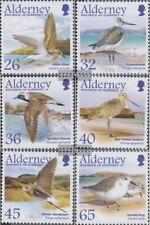 complete.issue. United Kingdom-alderney 236-241 Never Hinged Unmounted Mint