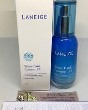 LANEIGE WATER BANK ESSENCE EX 60ml #1 MOISTURIZING ESSENCE WOMEN NEW BOX READ
