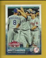 Brett Gardner 2015 Topps Update Series All Star Game Card # US72 N Y Yankees MLB