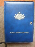 AUSTRALIAN 7 PROOF COIN SET BOX & CERTIFICATE 1986
