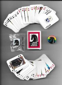 DARK HORSE 54 card MINI Promo Card Deck & Two Different Pins San Diego Comic-Con