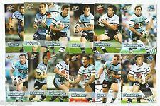 2008 Select NRL Champions SHARKS Team Set (12 Cards)